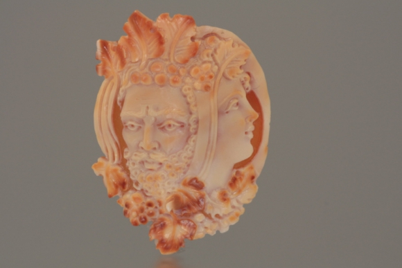 Unmounted Cameo of Bacchus & Ariadne
