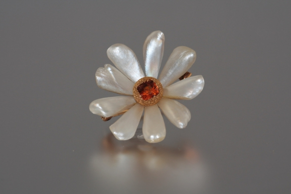 Turn of the Century Mississippi Pearl Pin