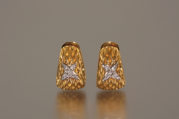 Designer 18K Diamond Earrings