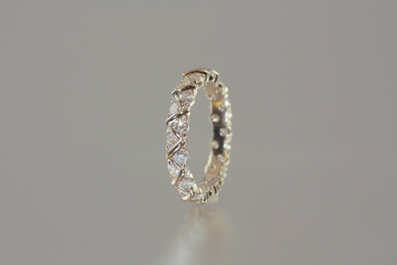 Platinum and Diamond Eternity Ring