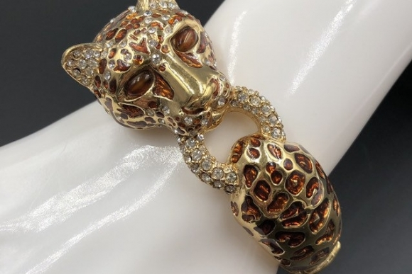 CINER Leopard Bangle